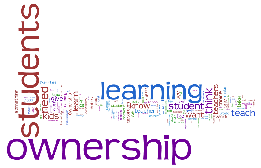 Edchat 1 19 2010 7pm Est Student Ownership Of Learning